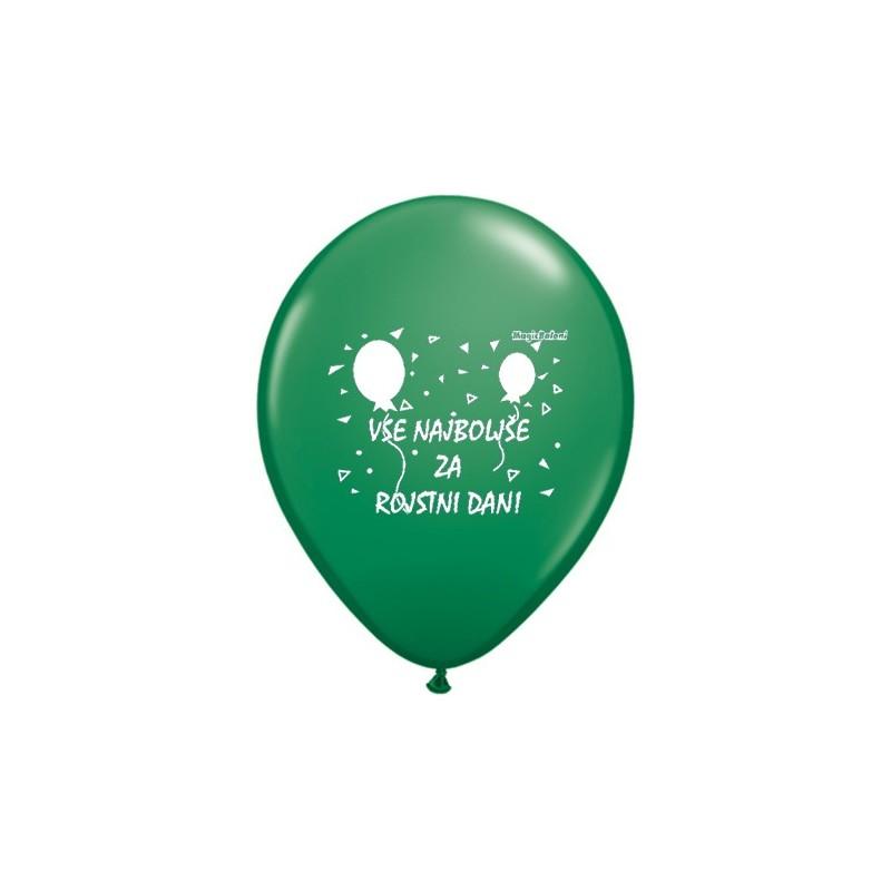 Balon Vse najboljše za rojstic dan