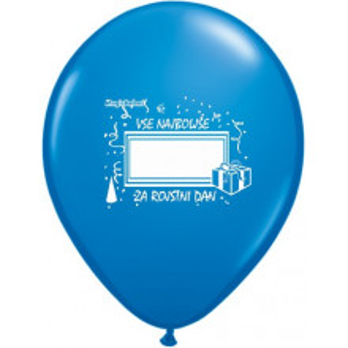 Happy Balloon.. print your name!