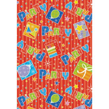 Party Style gift wrap