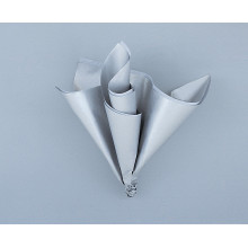 Papir za dekoracijo metalik srebrn