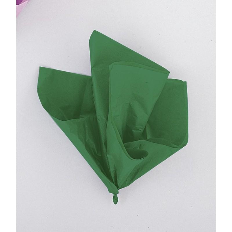 Papir za dekoracijo zelen