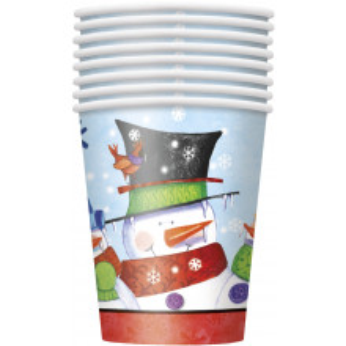 Snowman Buddies cups