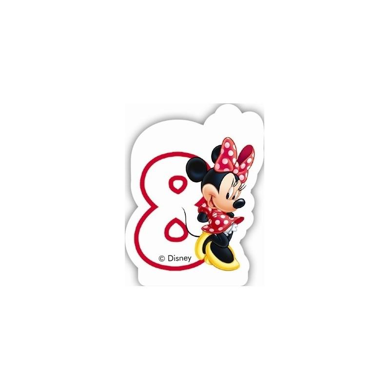 Minnie Mouse svečka 8