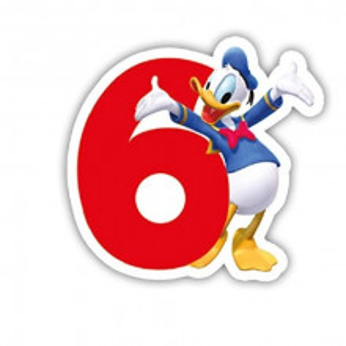 Mickey Mouse svečka 6