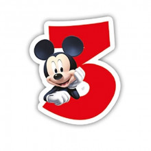Mickey Mouse candle 3