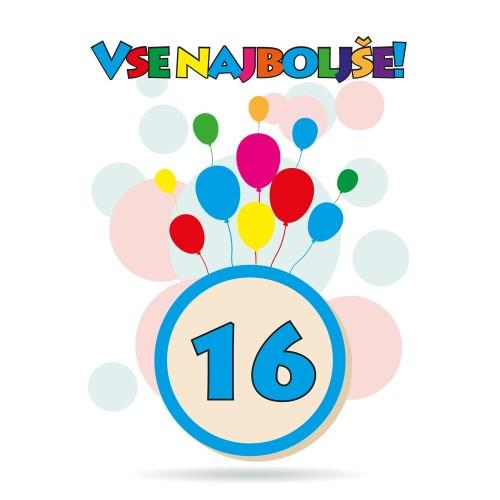 Čestitka sretan rođendan 16
