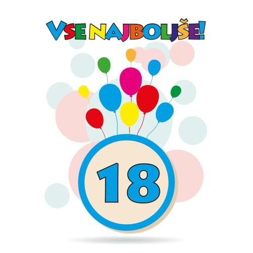 Čestitka sretan rođendan 18