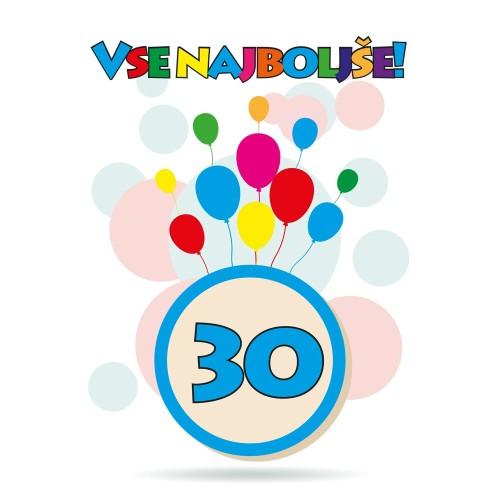 Čestitka sretan rođendan 30