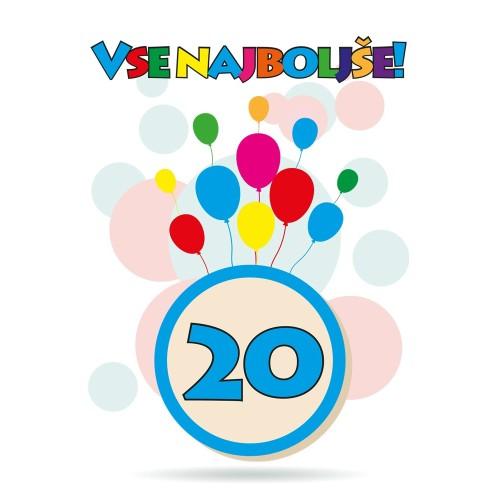Čestitka sretan rođendan 20