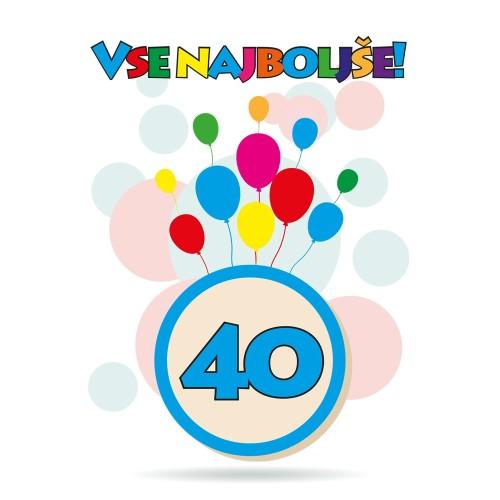 Čestitka sretan rođendan 40