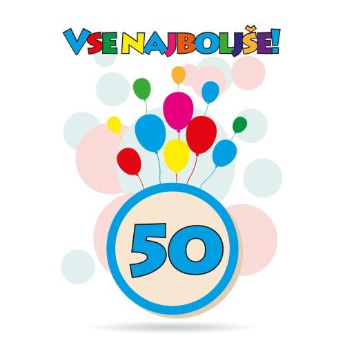 Čestitka sretan rođendan 50