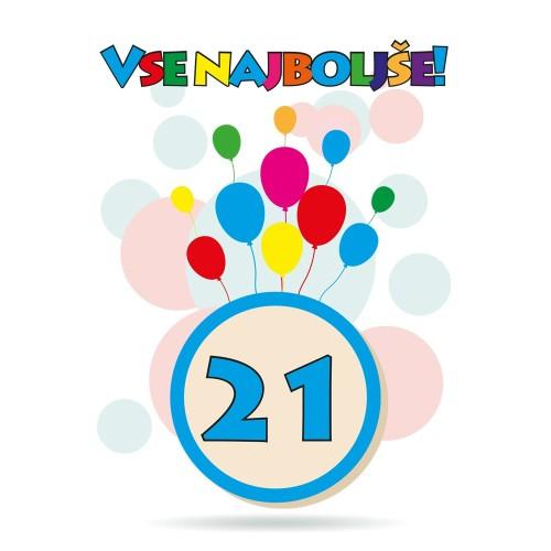 Čestitka sretan rođendan 21