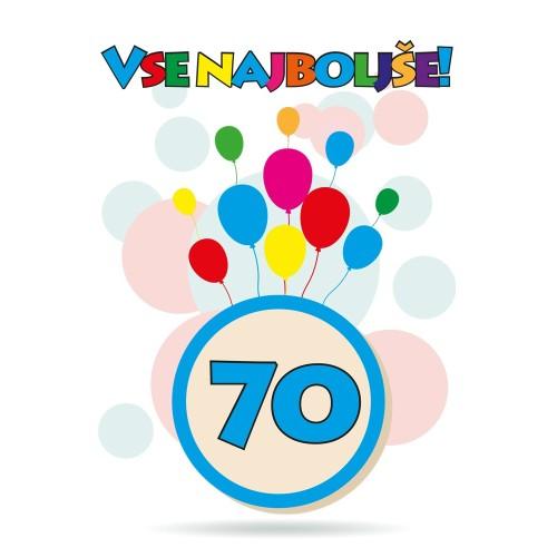Čestitka sretan rođendan 70