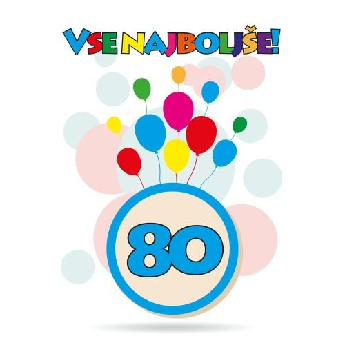 Čestitka sretan rođendan 80