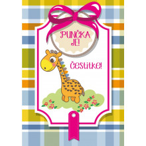 Greeting card Punčka je!