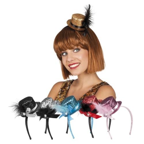 Mini Hat on headband