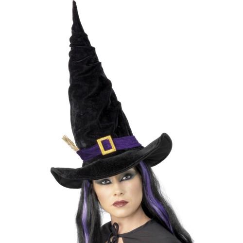 Čarovnica klobuk z zaponko