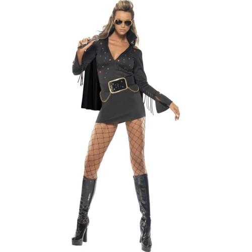 Lady Elvis črn kostum