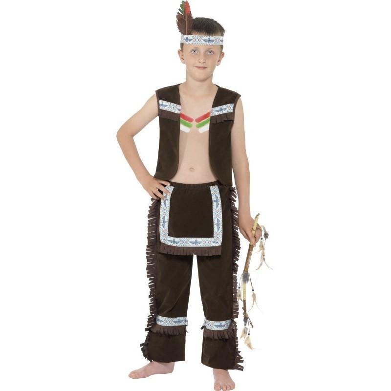 Magicballons Indianer Kinder Kostum