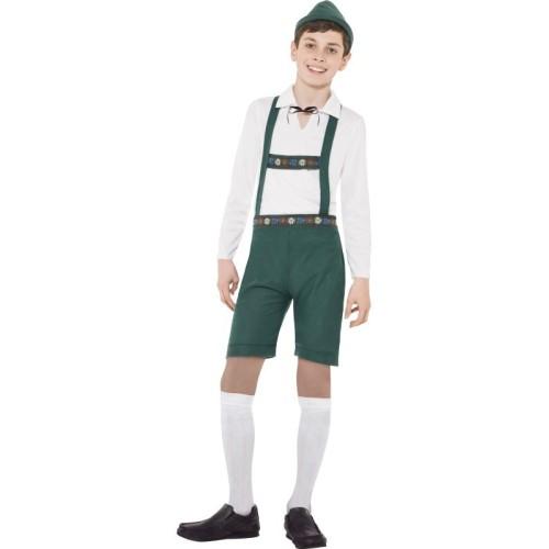Bavarski deček kostum