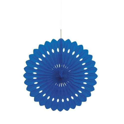 Mornarsko modra dekorativna pahljača
