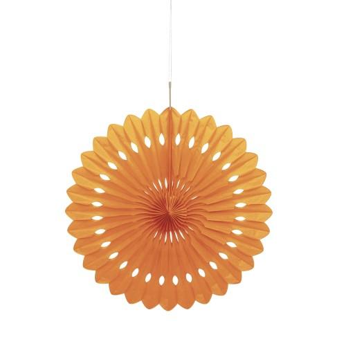 Decorative orange fan