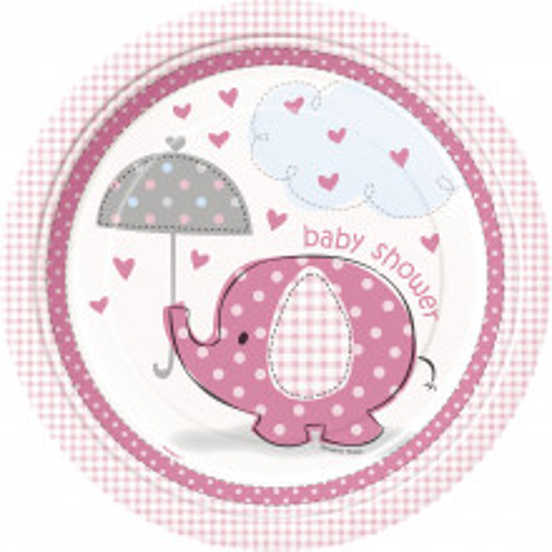 Kišobrani ružičaste ploče 23 cm