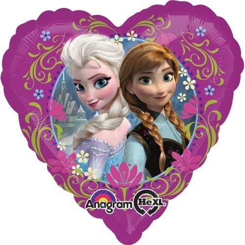 Frozen heart - foil balloon