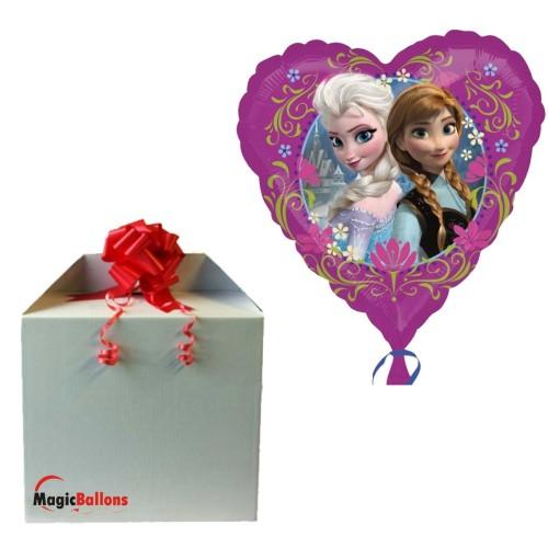 Frozen heart - foil balloon in a package