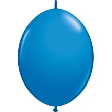 Ballon Quick Link - dunkelblau 15 cm