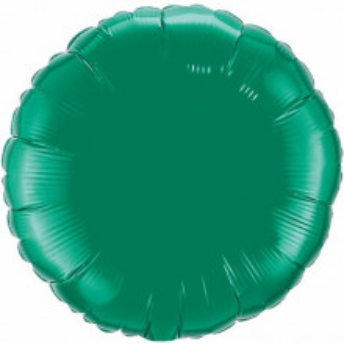 Folienballon - smaragdgrün 10 cm