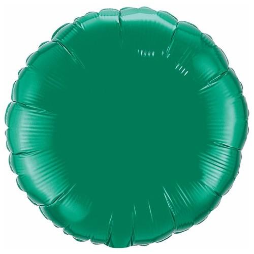 Folija balon - emeraldno zelen 10 cm
