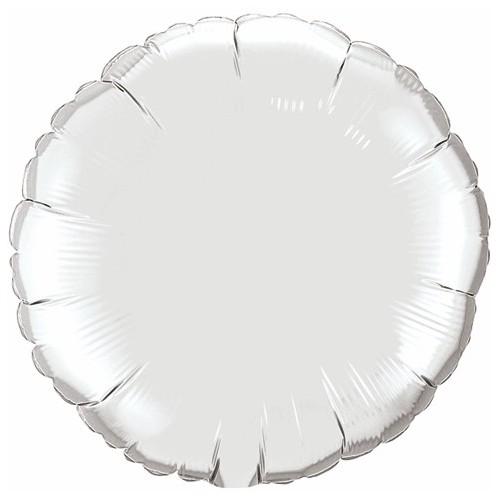 Folija balon - srebrn 10 cm