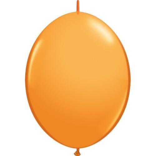 "Balloon Quick Link - orange 6"""
