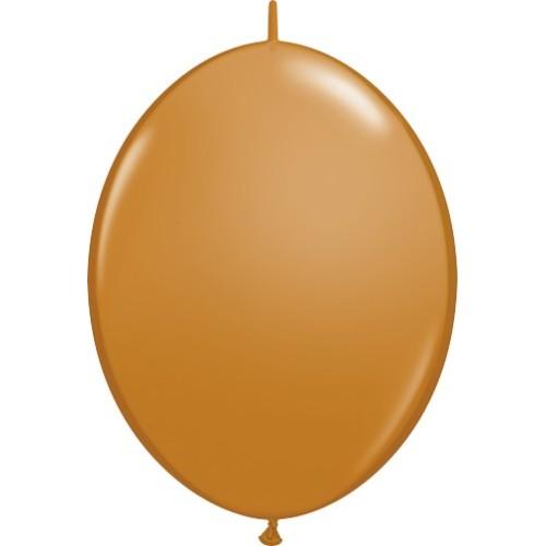 "Balloon Quick Link - mocha brown 6"""