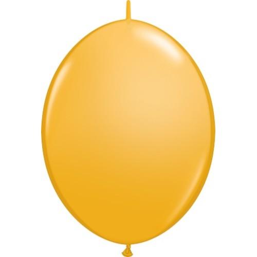Balon Quick Link - temno rumen 15 cm