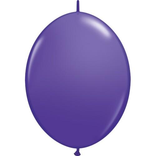 "Balloon Quick Link - purple violet 6"""