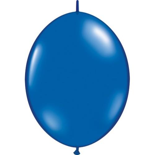 """Balloon Quick Link - sapphire blue 6"""""""