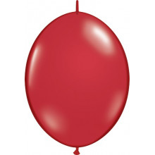"""Balloon Quick Link - ruby red 6"""""""