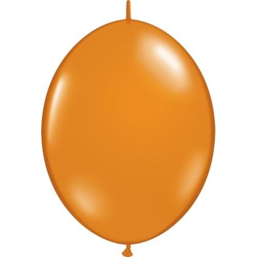 "Balloon Quick Link - mandarin orange 6"""
