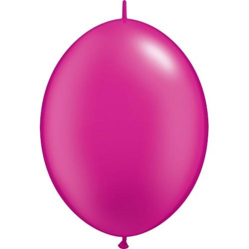 "Balloon Quick Link - pearl magenta 6"""