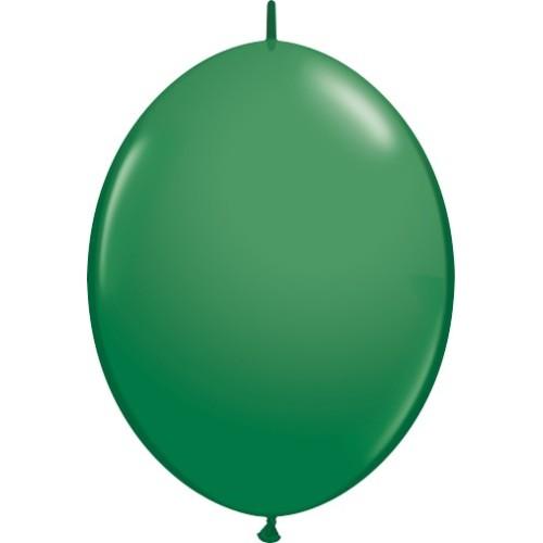 Balon Quick Link - zelen 30 cm