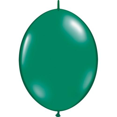 "Balloon Quick Link - emerald green 12"""