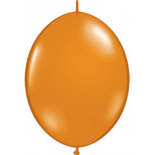 "Balloon Quick Link - mandarin orange 12"""