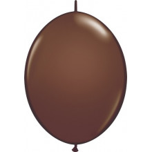 """Balloon Quick Link - chocolate brown 12"""""""