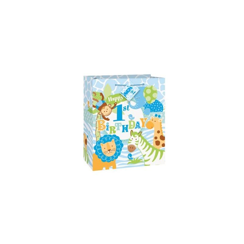 Blue Safari gift bag