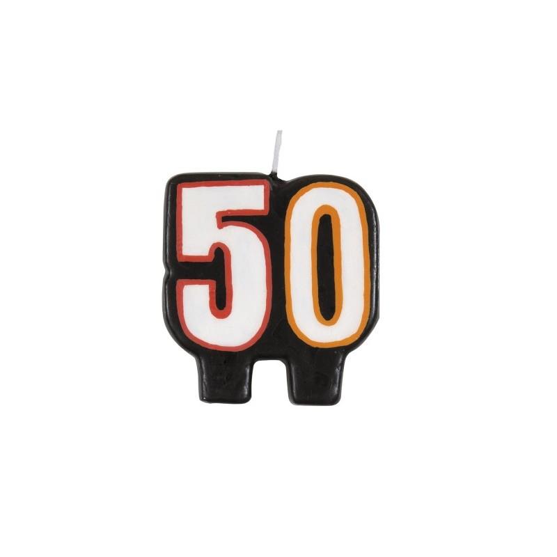 Birthday Cheer candle 50