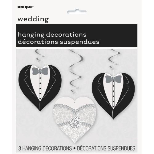 Dekoracija za vješanje srca na vjenčanju