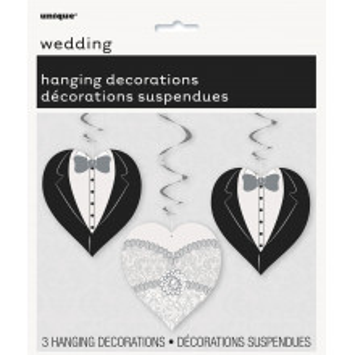 Wedding Heart viseča dekoracija