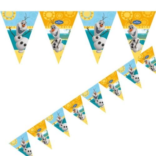 Olaf flag banner